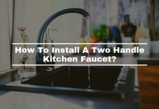 How To Install A Two Handle Kitchen Faucet