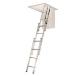 WERNER Aluminum Attic LADDER AA1510