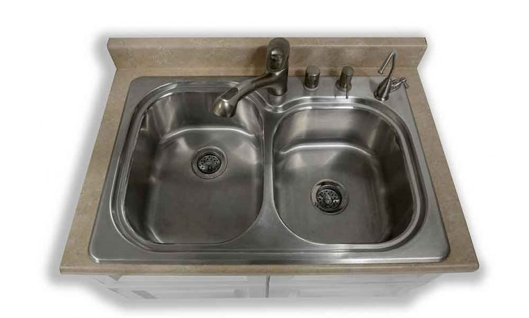 How to Remove Chemical Stains from Stainless Steel Sink?